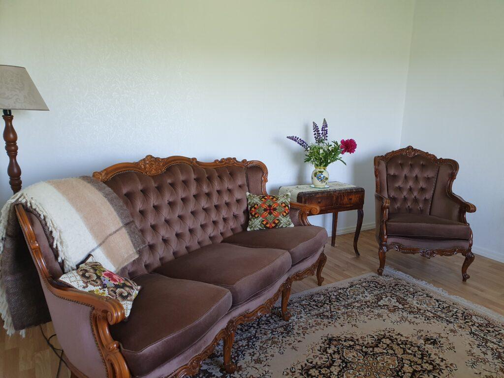 työhuone sohva